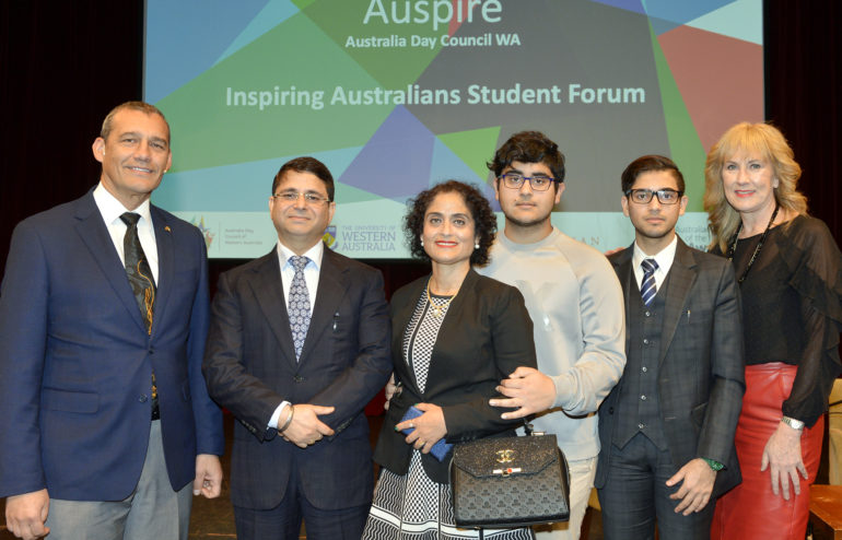 Inspiring Australians Student Forum Sponsorship - Welcome to